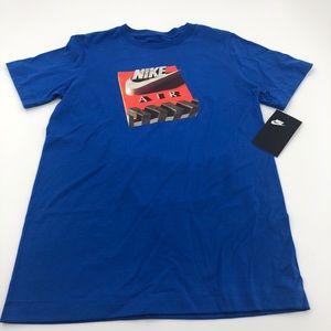 Medium Boys NWT Nike Air Blue T-Shirt